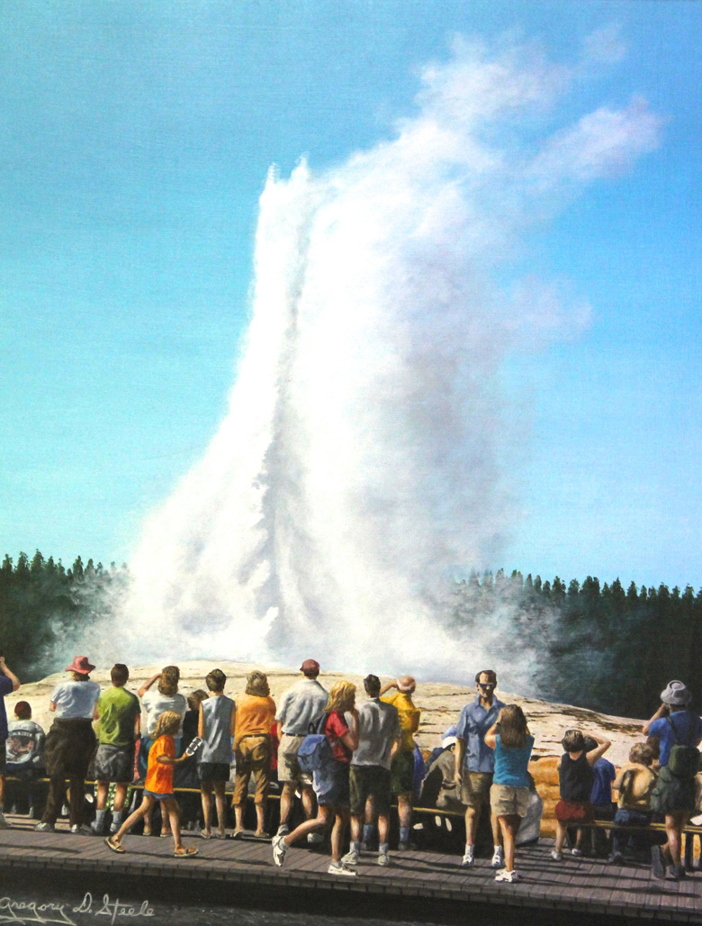 Viewing Old Faithful